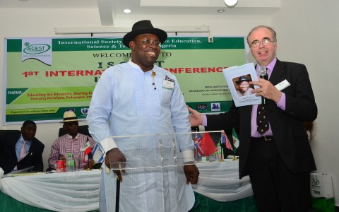 PRESIDENT JONATHAN, GOV DICKSON INDUCTED AS FELLOWS OF ISCEST