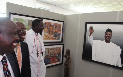 OFFICIAL COMMISSIONING OF THE AZAIKI PUBLIC LIBRARY – Tour by Clergy