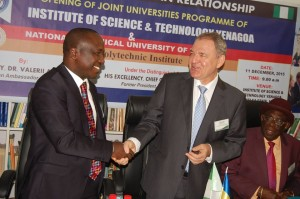 """LAUNCHING OF JOINT NIGERIA-UKRAINE EDUCATIONAL PROJECT """"FOUNDATION YEAR OF THE NATIONAL TECHNICAL UNIVERSITY OF UKRAINE """"KYIV POLYTECHNIC INSTITUTE"""" IN NIGERIA"""